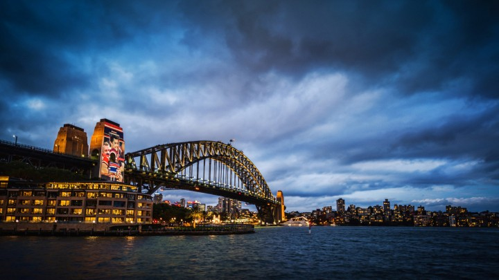 A Scenery Of Sydney Harbour Bridge