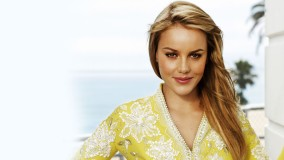 Abbie Cornish Wearing Designer Yellow Dress