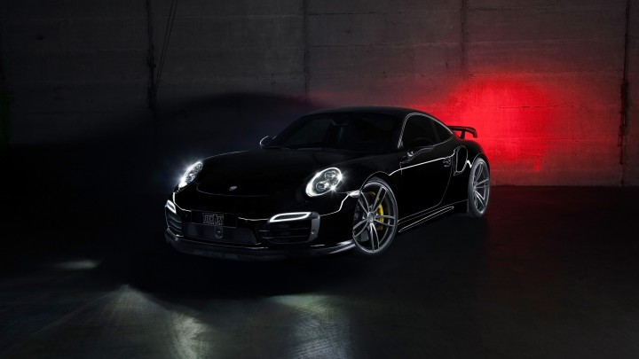 Black Beauty 2014 Porsche 911 Turbo By TechArt