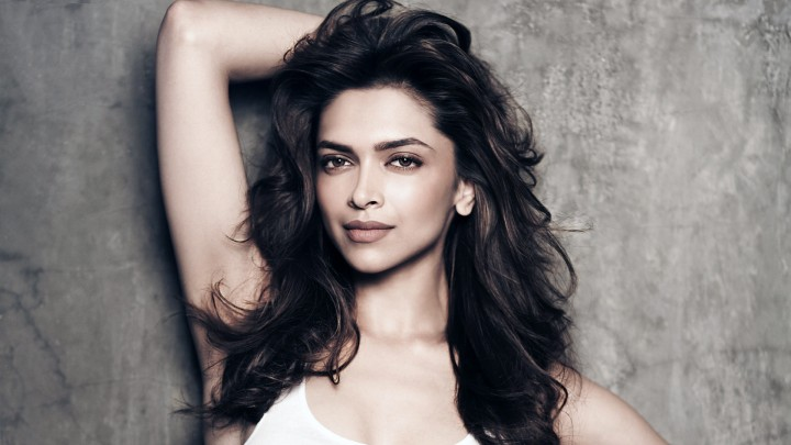 Deepika Padukone Standing Along With Wall Making A Cute Pose