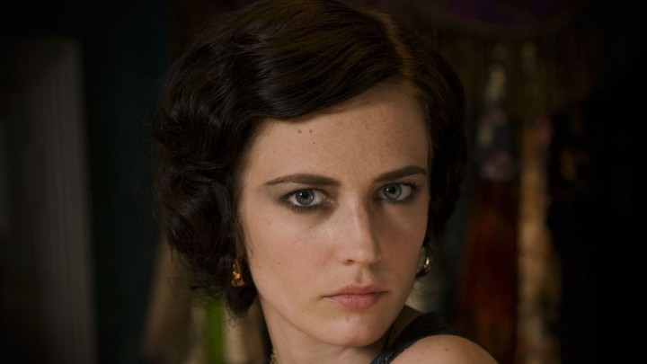 Eva Green Face Closeup Giving Serious Look