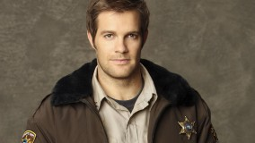 Geoff Stults In Sheriff's Uniform