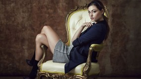 Hayley Sitting On Chair In TV Serial The Originals