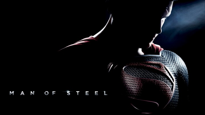 Henry Cavill Face In Dark In Movie Man Of Steel
