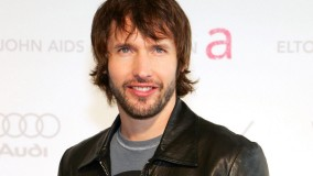 James Blunt With Beard In Black Leather Jacket