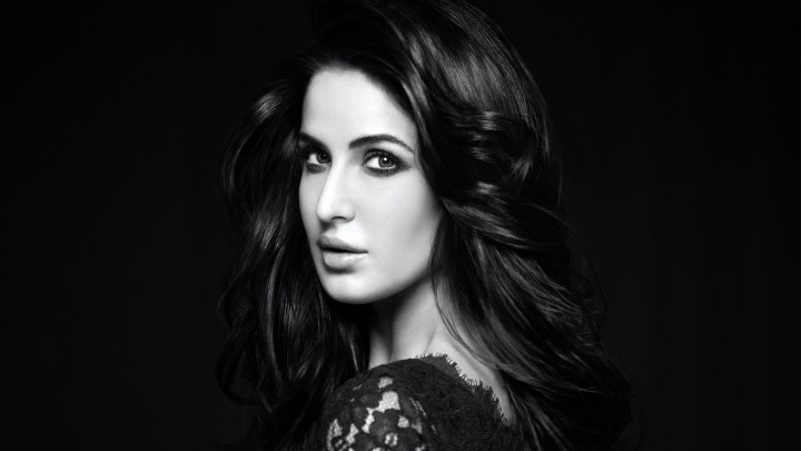 Katrina Kaif In Black Dress Cute Eyes