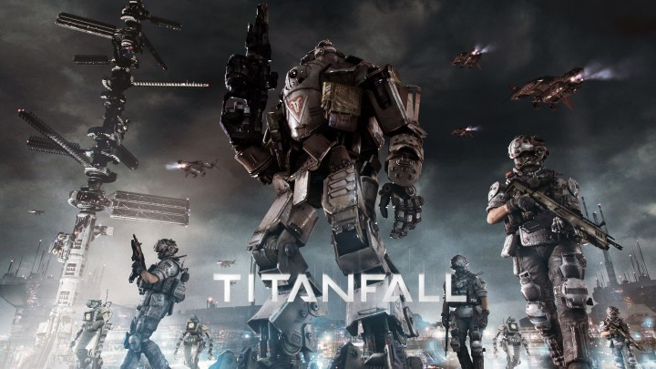 Poster Of First-Person Shooter Game Titanfall