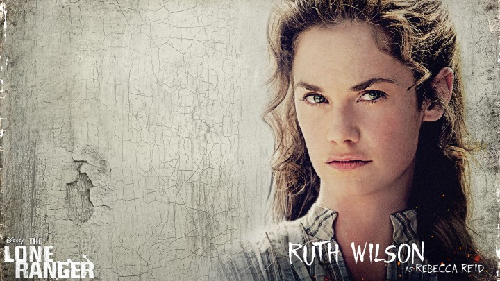 Ruth Wilson Face Closeup In Movie The Lone Ranger
