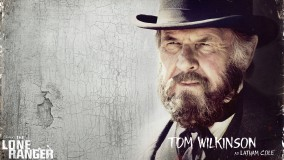 Tom Wilkinson In Balck Hat And Long Beard